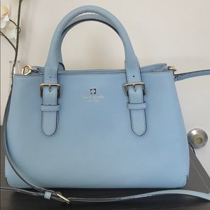 New without tags- Kate Spade light blue handbag